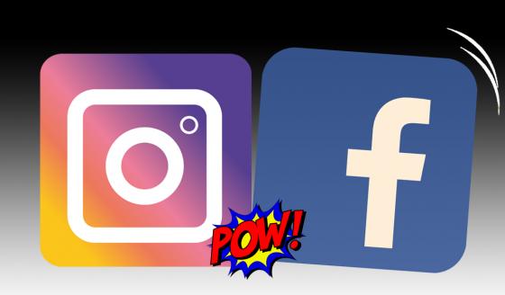 Facebook versus Instagram